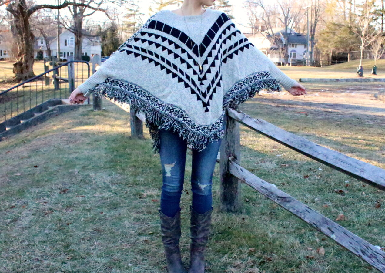 Liv's Style: Poncho? Sweater? Or Both?