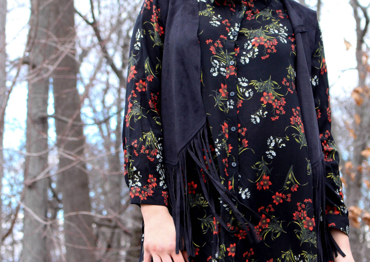 A Few Of My Favorite Things- Floral, Fringe, and Sparkle